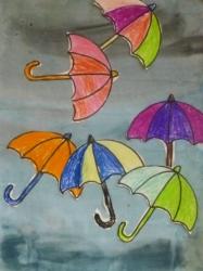 Fliegende Regenschirme_1