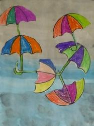 Fliegende Regenschirme_3