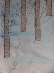 Kl. 1/2 - Tierspuren im Winterwald_1