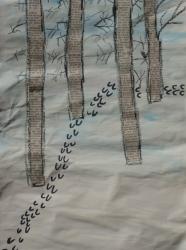 Kl. 1/2 - Tierspuren im Winterwald_5