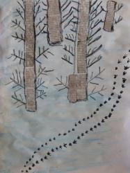 Kl. 1/2 - Tierspuren im Winterwald_6