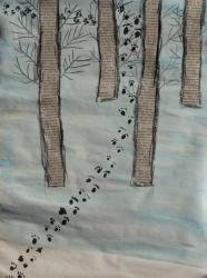 Kl. 1/2 - Tierspuren im Winterwald_8