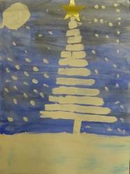 Kl. 1/2 - Winterweihnachtsbaum
