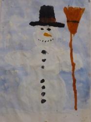 Kl. 3 - Schneemänner