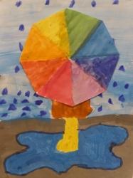 Kl. 4 - Regenschirmwetter