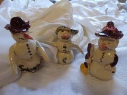 Schneemänner aus Ton_1