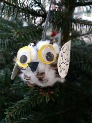 Weihnachtsbaumschmuck Eulen