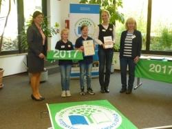 Auszeichnung Umweltschule 2015 - 2017