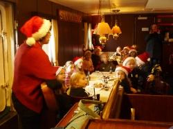 Die Weihnachtsfeier  der Klassen E1 und E2 auf der Lissi