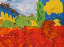 Die Welt in diesen rauschenden Farben