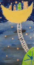 Kl. 1/2 - Eine Leiter zum Mond