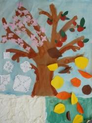 Kl. 1/2 - Jahreszeitenbaum