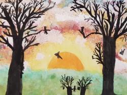 Sonnenaufgang in Moorriem_1