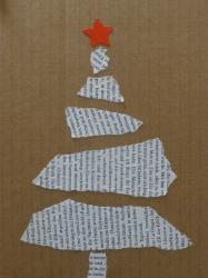 Weihnachtsbäume einmal anders, Kl. 4